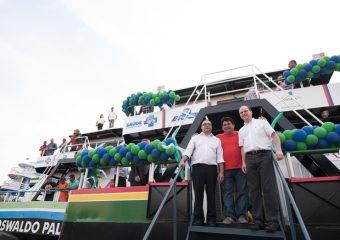 Imed prestigia entrega de Unidades Básicas de Saúde Fluvial para municípios do interior do AM