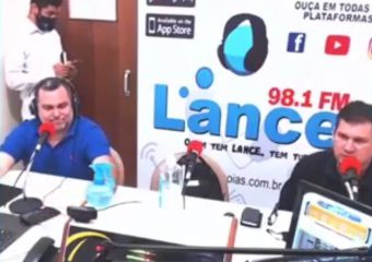 Jeferson Pereira, diretor do IMED, concede entrevista à Rádio Lance FM