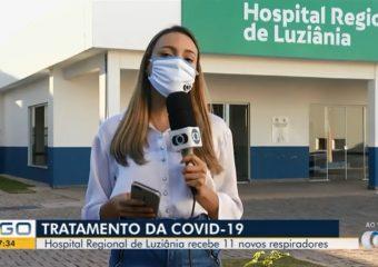 Bom Dia Goiás destaca novos respiradores recebidos pelo HRL