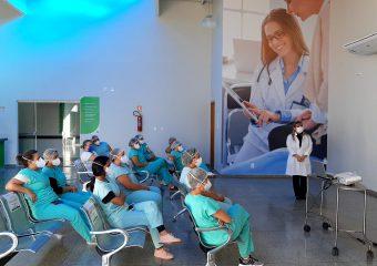Profissionais de saúde garantem acolhimento a pacientes no Hospital Regional de Luziânia