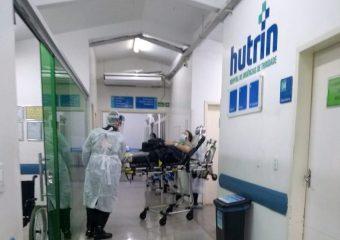 Hutrin recebe primeiro paciente com Covid-19