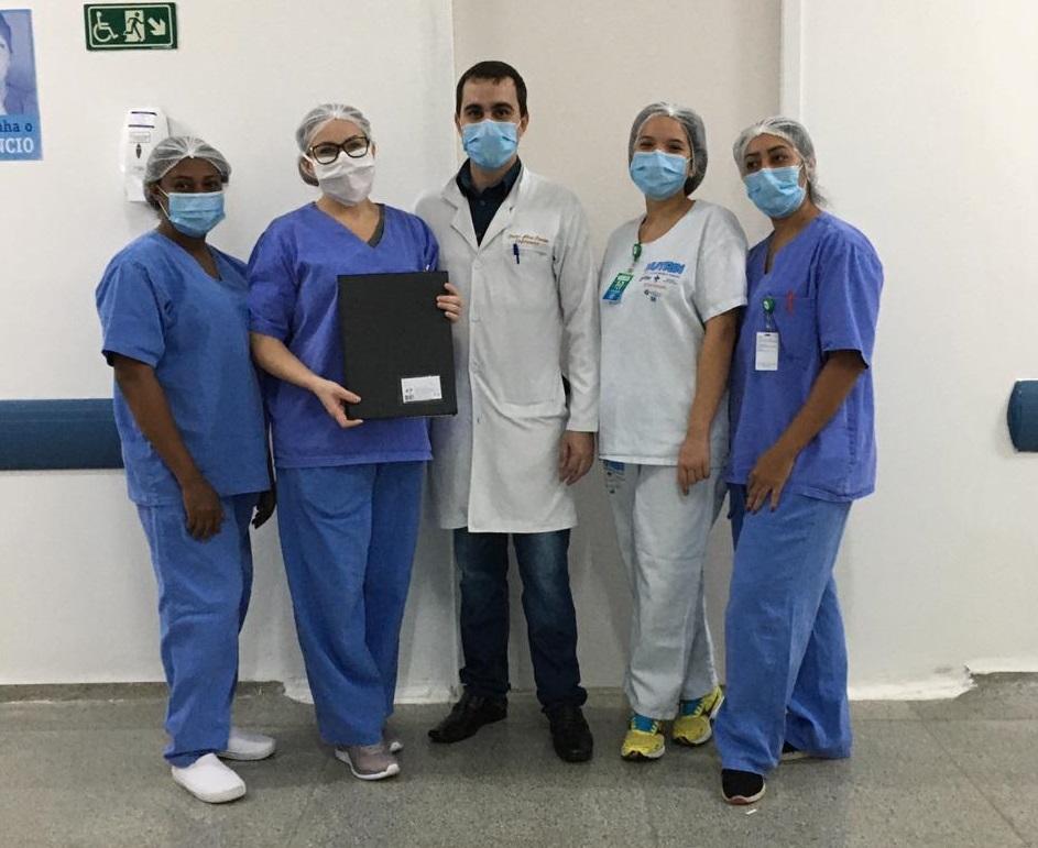 Hospital de Urgências de Trindade selecionou 51 profissionais durante a pandemia
