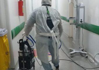 Hutrin eleva o nível de desinfecção com pulverização eletrostática
