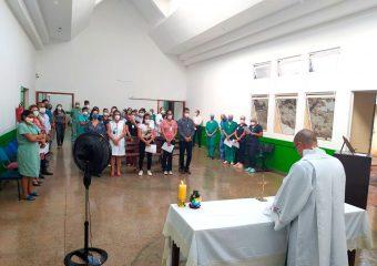 Primeira missa de ação de graças é celebrada no Hospital Regional de Formosa