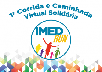 IMED promove corrida virtual