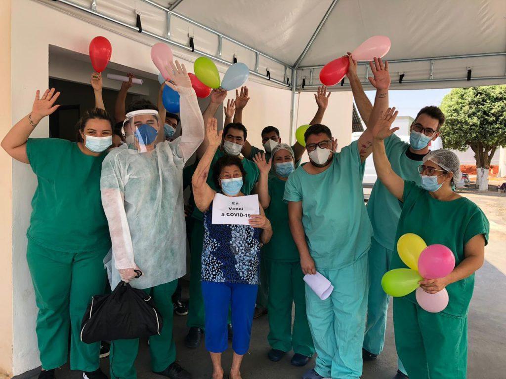 Equipe Hospital Regional São Luís de Montes Belos
