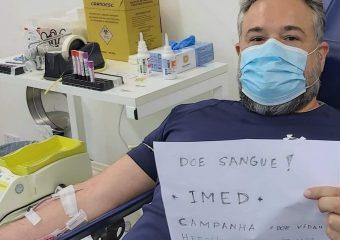 Junho vermelho: Live Amor Cantado mobiliza pessoas para a doação de sangue