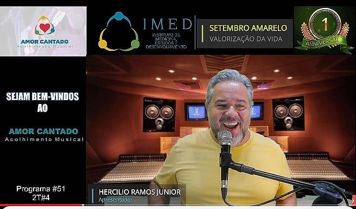 Amor Cantado - Hercílio Ramos