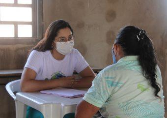 Hospital Estadual de Luziânia realiza ação social no bairro Jardim São Paulo