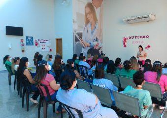 Hospital Estadual de Luziânia realiza projeto sobre o Outubro Rosa